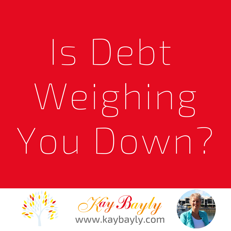 is debt weighing you down?