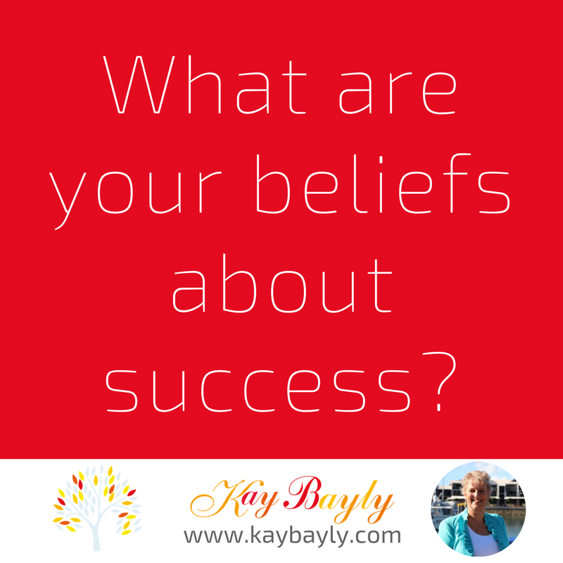Your beliefs about success