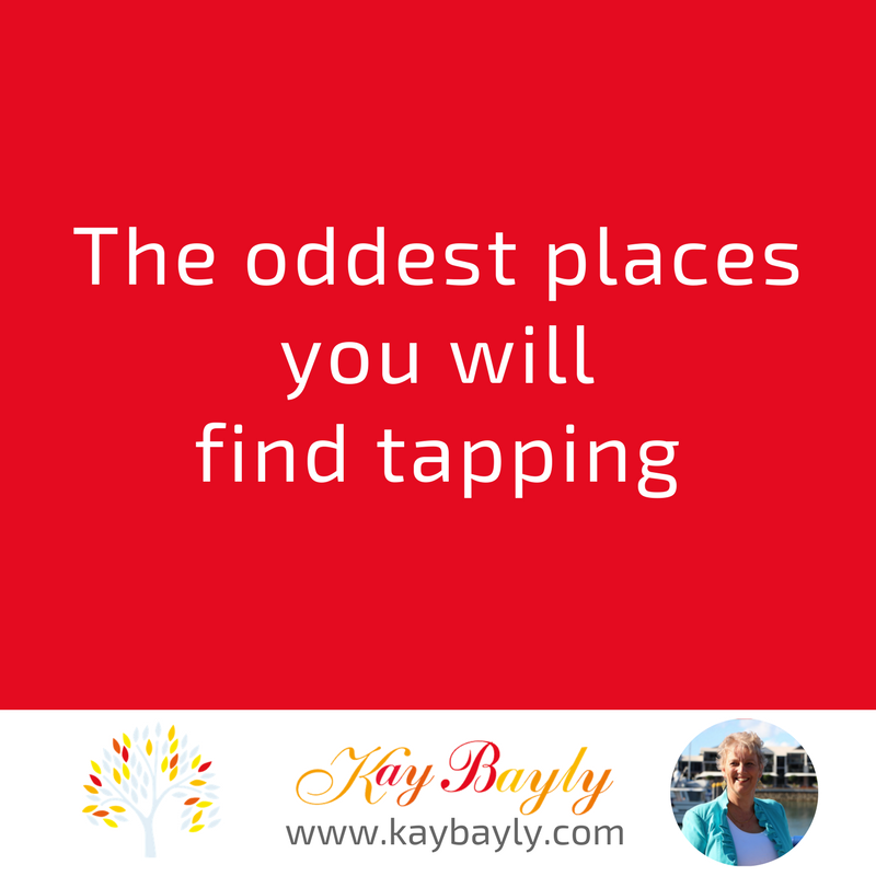 The oddest places you will find tapping